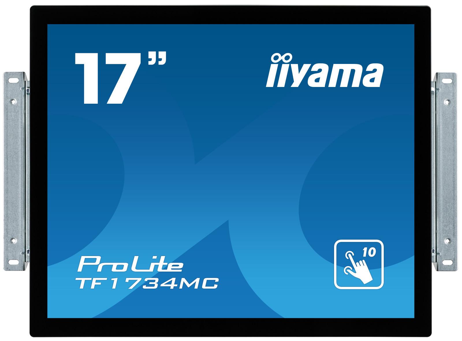 Iiyama LCD TF1734MC-B1X 17''LED dotykový, 5ms, VGA/DVI, USB, 1280x1024, č