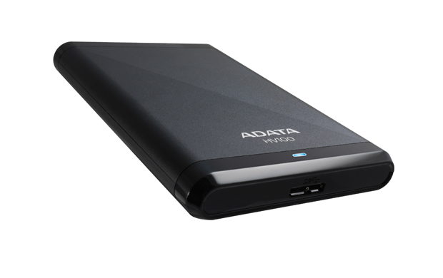 ADATA HV100 2TB 2.5'' externí HDD, USB 3.0, černý