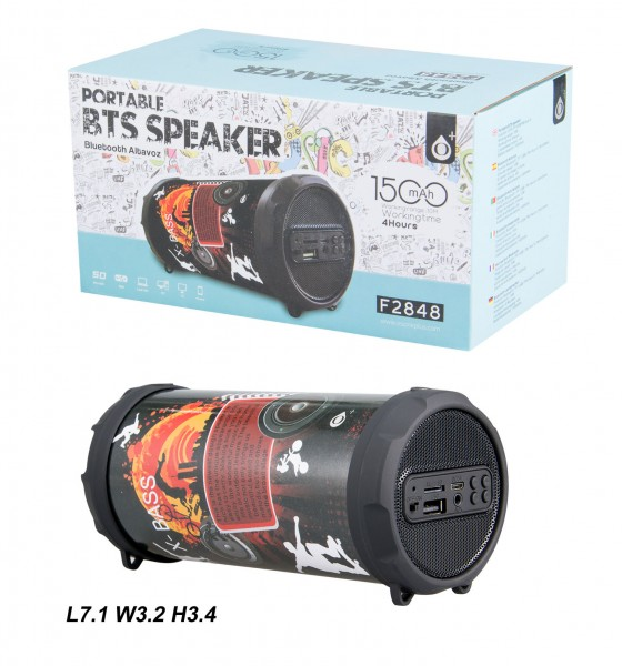 Aligator Bluetooth Portable Speaker PLUS Mini F2848, Sport