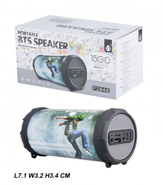 Aligator Bluetooth Portable Speaker PLUS Mini F2848, Hi-pop
