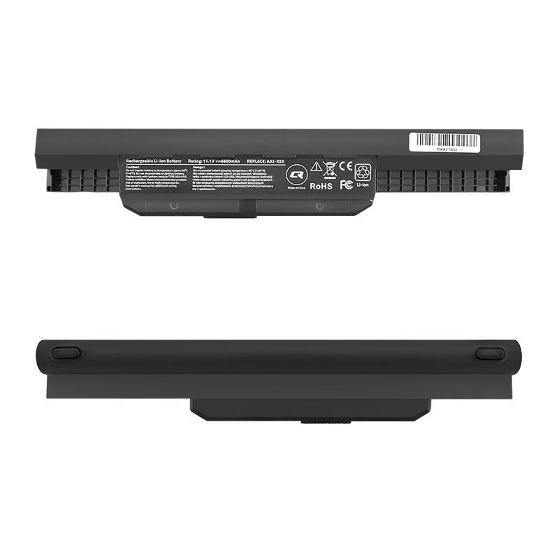 Qoltec Long Life baterie pro notebooky Asus K53S X53S | 10.8-11.1V | 6600mAh