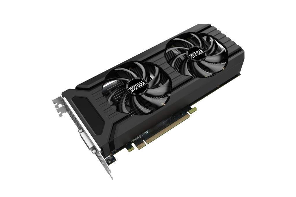 PALIT GeForce GTX 1060 Dual, 6GB GDDR5 (192 Bit), HDMI, DVI, 3xDP
