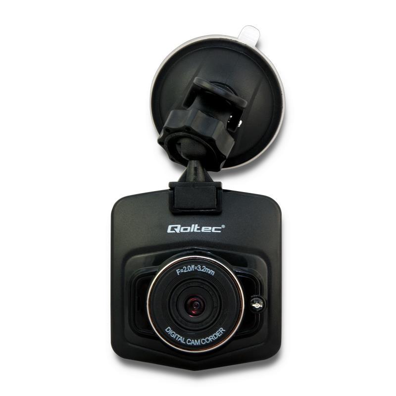 Qoltec CAR RECORDER HD | LCD 2.4''