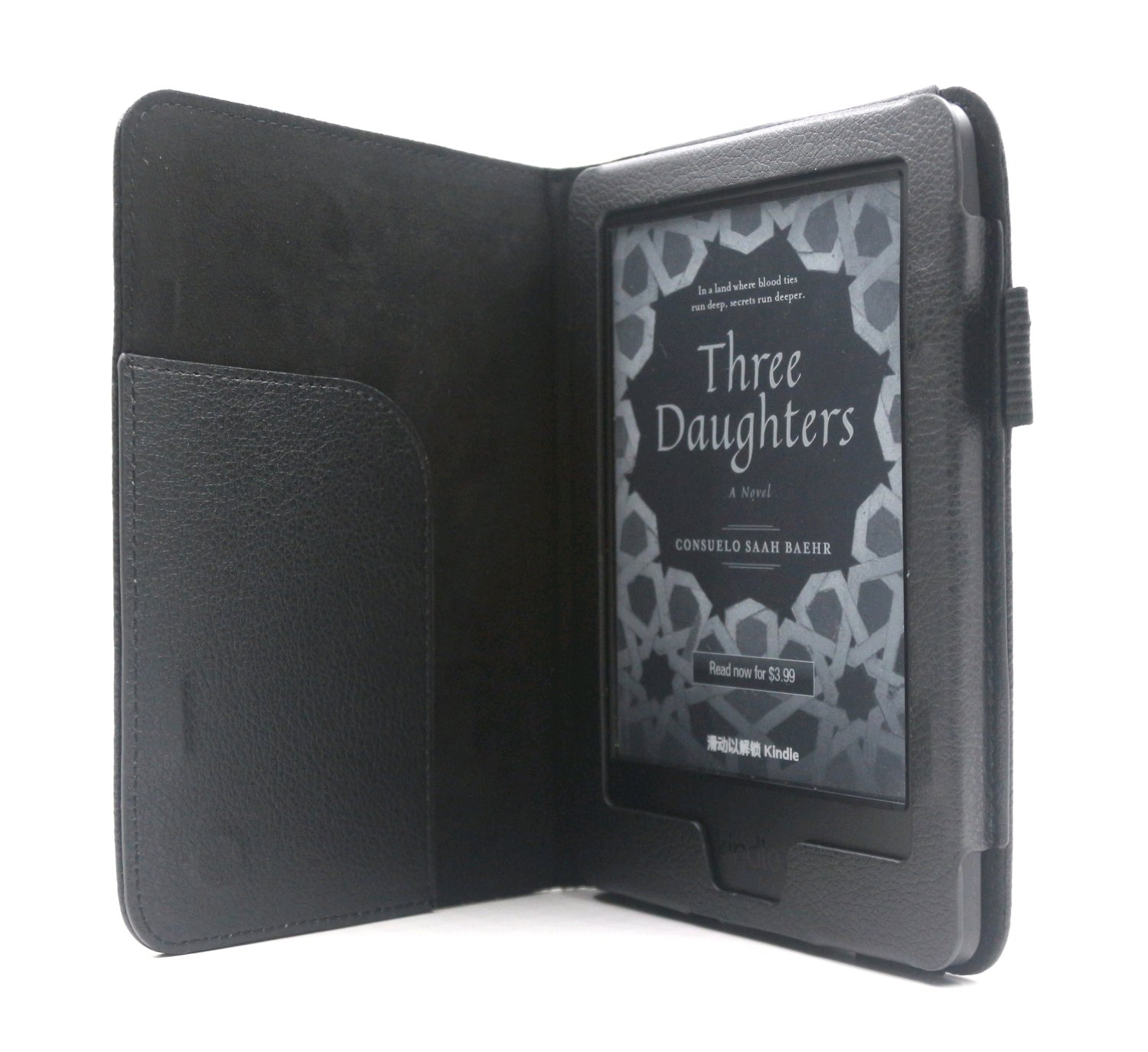Amazon Kindle C-TECH PROTECT pouzdro pro Amazon Kindle 6 TOUCH, WAKE/SLEEP funkce,AKC-08, černéVýrobceC-TECH