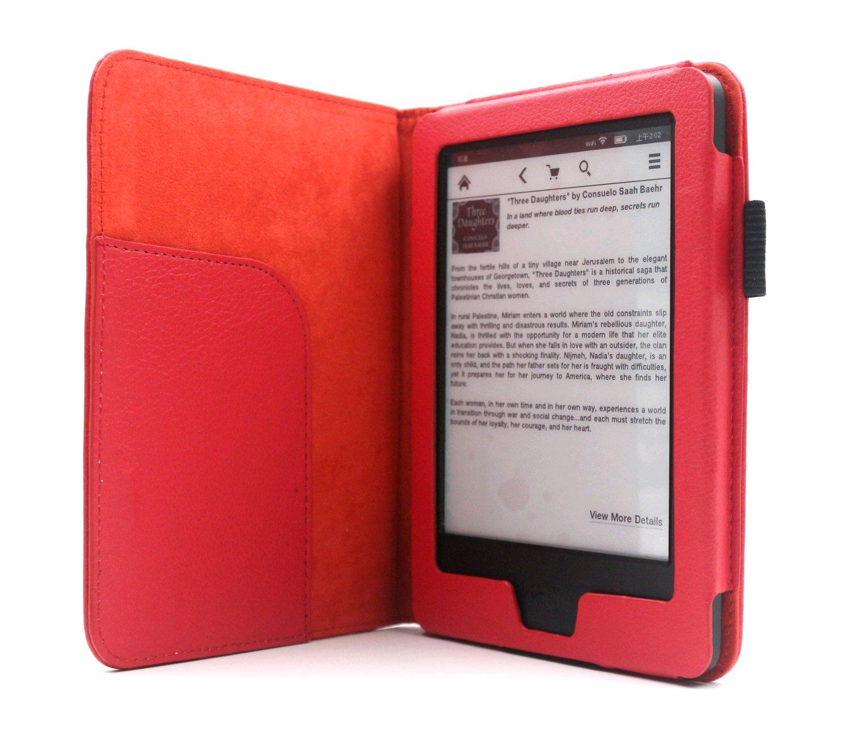 C-TECH PROTECT pouzdro pro Amazon Kindle 6 TOUCH, WAKE/SLEEP funkce,AKC-08, modré