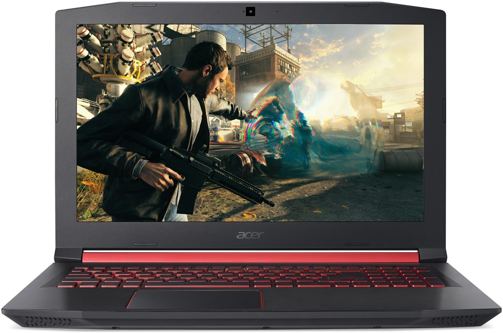 "Acer Nitro 5 (AN515-52-70NF) i7-8750H/8GB+N/1TB 7200 ot.+16GB/GeForce GTX 1060 6GB/15.6""FHD IPS LED matný/BT/W10 Home/Black"