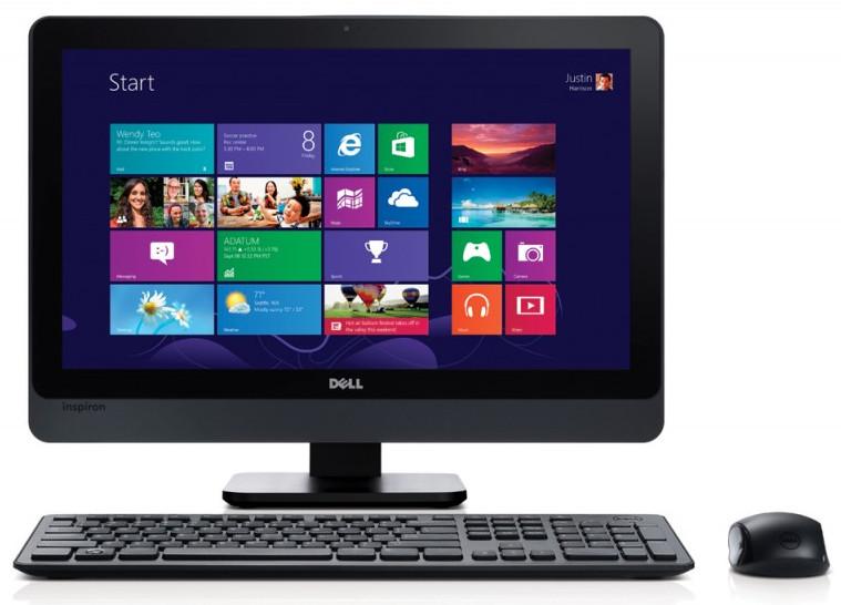 """Dell Inspiron 23"""" AIO 5348 Full HD i3-4150/4GB RAM/1T HDD/AMD R7 A265 2GB/Windows 8.1/2 roky NBD"""