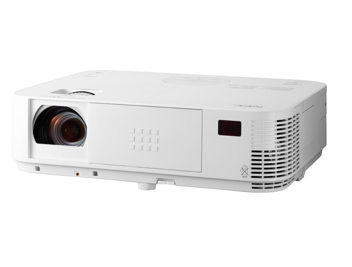 NEC Projektor DLP M362X (1024x768,3600ANSI,10000:1,x 1.7 zoom) 8,000h lamp/filter,HDMI,LAN,Optional WLAN