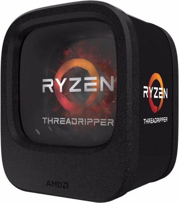 AMD RYZEN THREADRIPPER 1900X, S TR4, 8 Core, 16 Thread, 3.8GHz, 4.0GHz Turbo