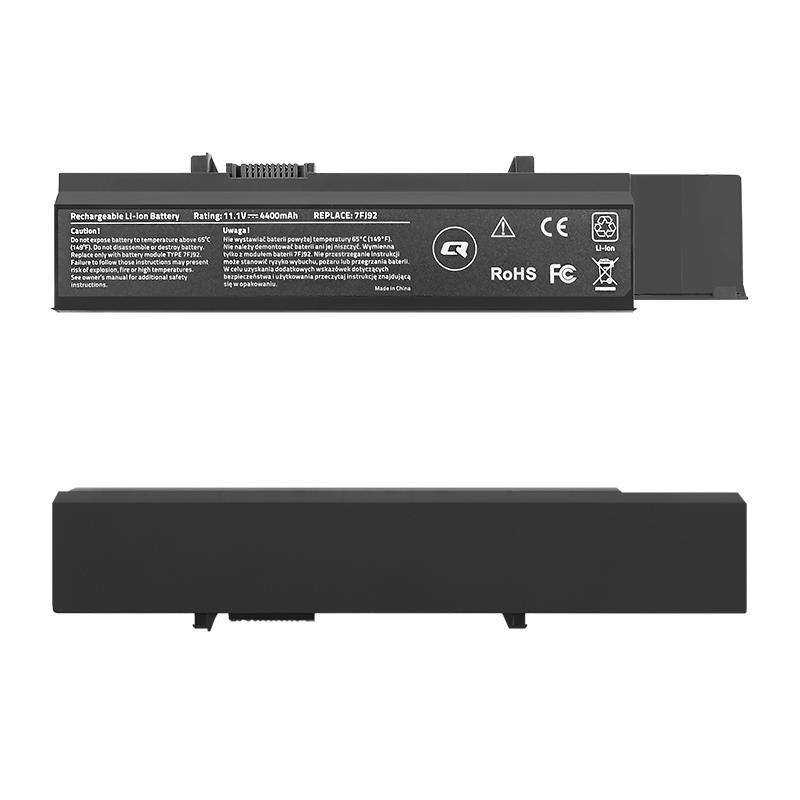 Qoltec Long Life baterie pro notebooky Dell Vostro 3500   10.8-11.1V   4400mAh