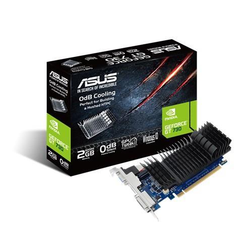 ASUS GeForce GT 730, 2GB GDDR5 (64 Bit), HDMI, DVI
