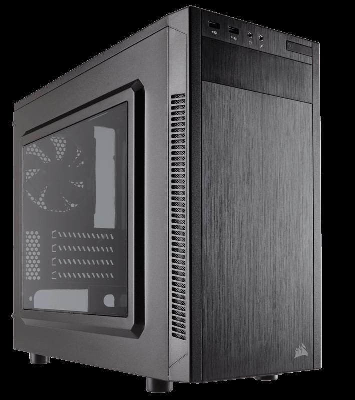 Corsair PC skříň Carbide Series 88R Mid-Tower MicroATX, větrák 120mm