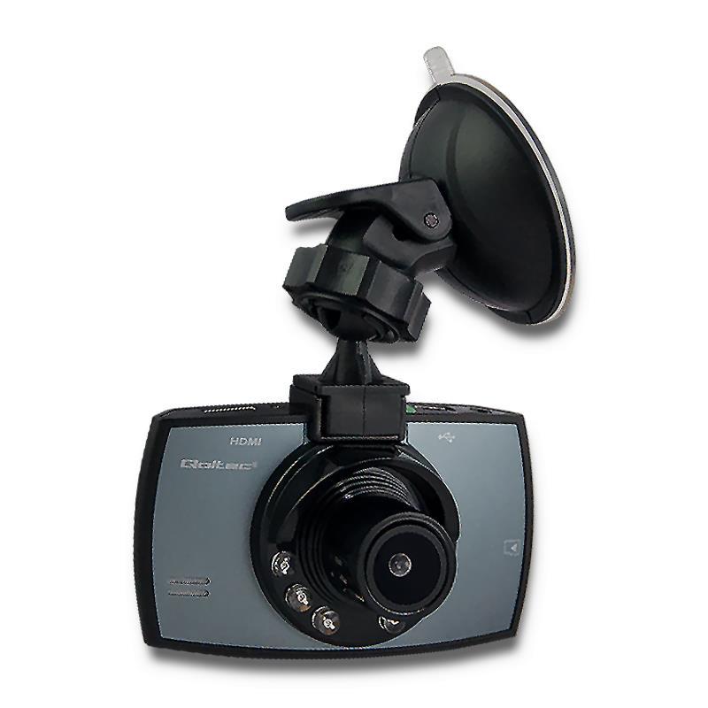 Qoltec CAR RECORDER Full HD | G-SENSOR | Monitoring | LCD 2.7''