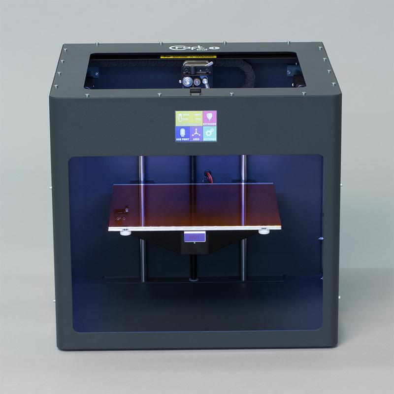 3D tiskárna, CRAFTBOT 2 (GRAY) + 10 x filament Devil design PLA 1,75 1kg