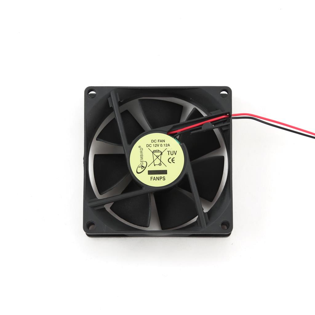 Gembird ventilátor pro PC case, 80x80mm