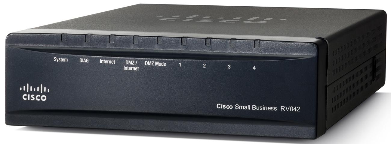 Cisco VPN Router RV042, 4xLAN 10/100 + 2xWAN
