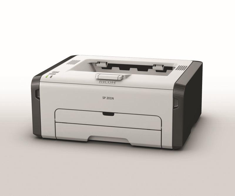 RICOH SP 201NW - 22 str/min, tiskárna, 32MB, LAN & WiFi