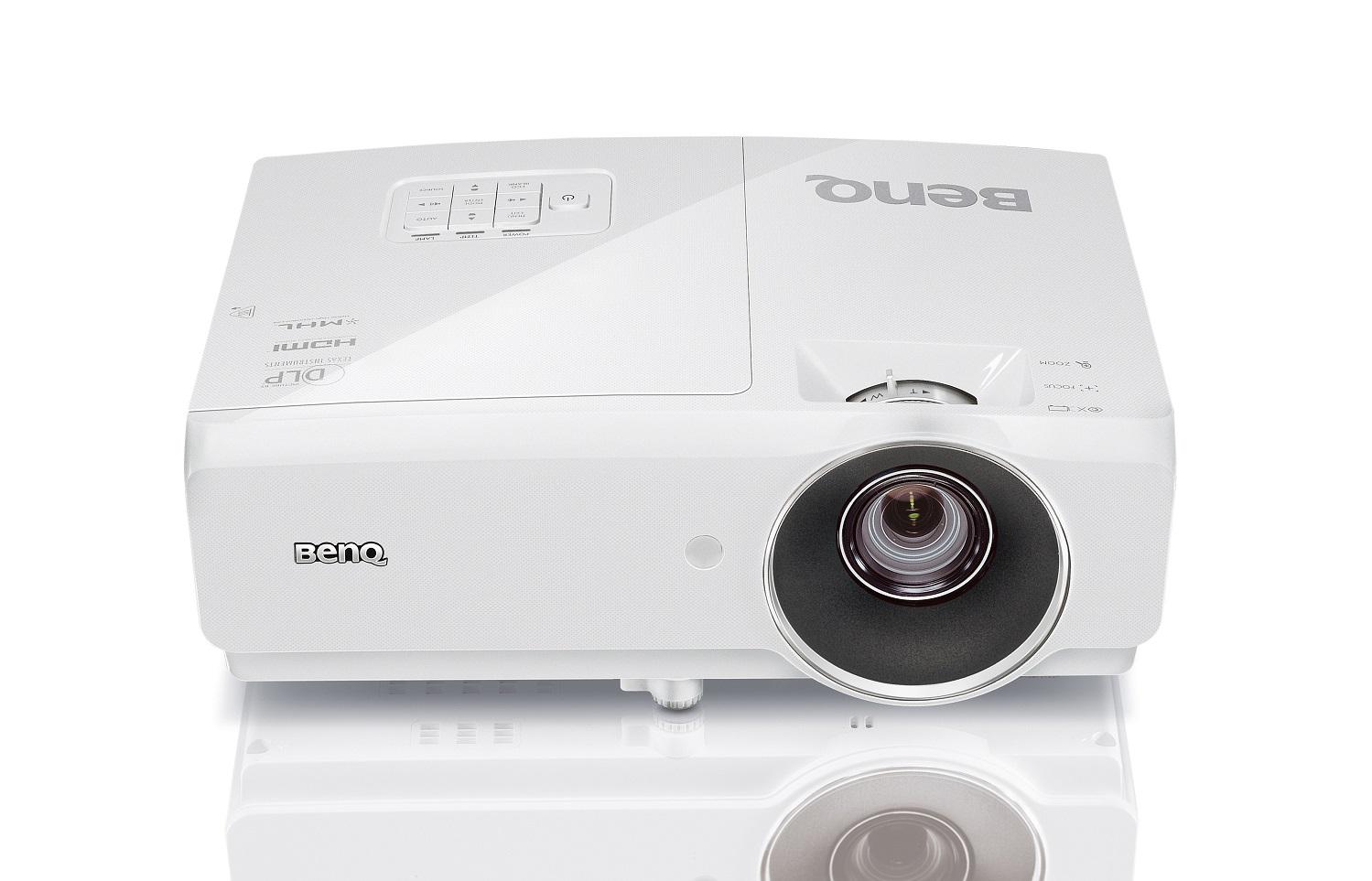 BenQ DLP Projektor MW727/WXGA/4200ANSI/11000:1/HDMI/LAN/3D/1x10W repro