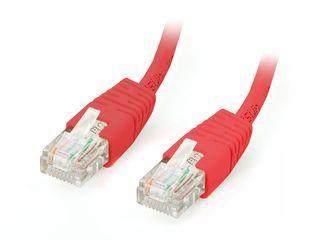 Equip patch kabel U/UTP Cat. 5E, 1m, červený