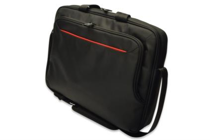 "Ednet Notebook Bag, 15.6 "", super-fiber, nylon, black, Size: L43 x W11 x H32 cm"