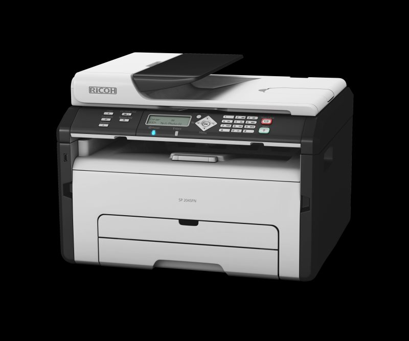 RICOH SP 204SFNW - 22 PPM, MFP with Print, Scan, Fax, Copy, WIFI & Network