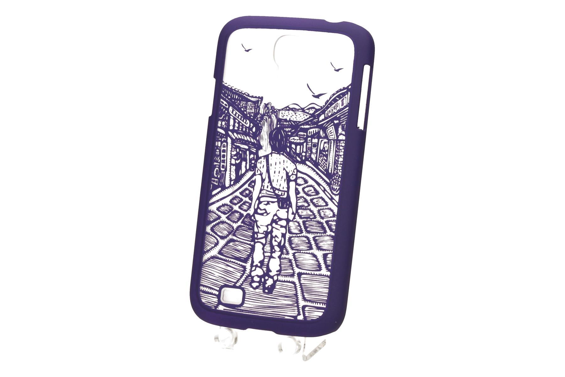 TB Touch pouzdro pro Samsung S4 purple