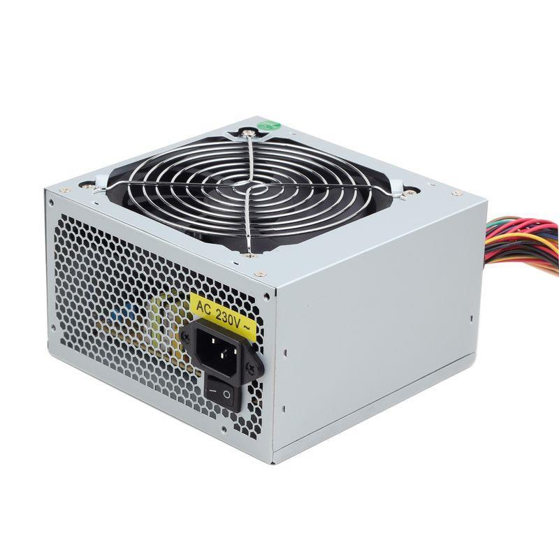 Gembird zdroj 450W Intel 2.2 ATX/BTX, CE, PFC, velmi tichý, 12 cm ventilátor