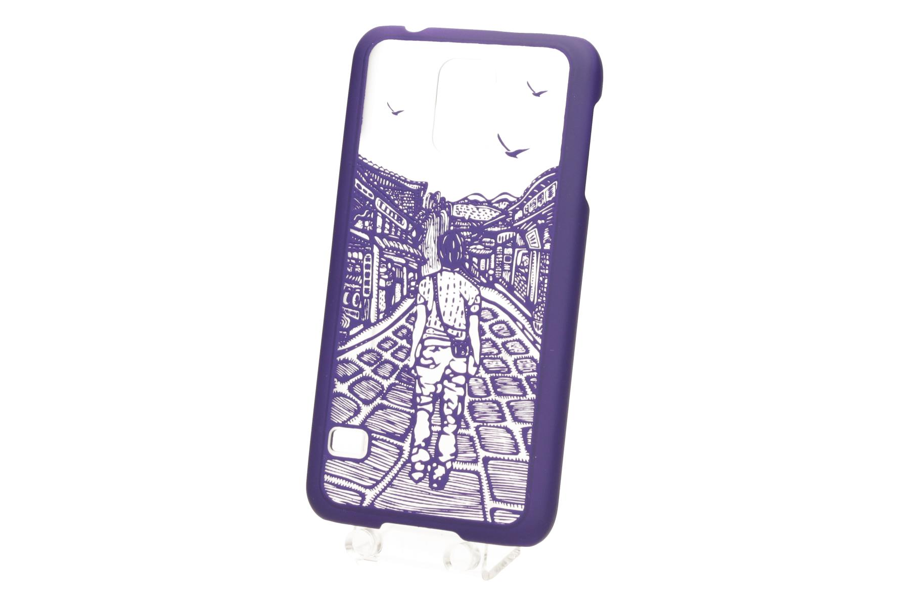 TB Touch pouzdro pro Samsung S5 purple