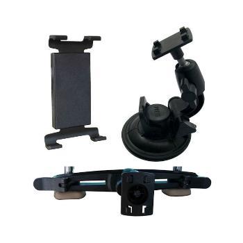Qoltec Nastavitelný držák do auta na sklo/opěrku hlavy 7-10.1'', univerzální