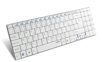 RAPOO Klávesnice E9070 USB, bezdrátová, bílá, CZ
