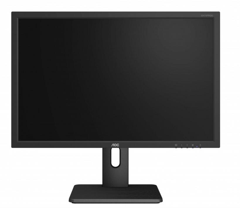 """AOC LCD I2475PRQU 24""""wide/1920x1200/4ms/50mil:1/VGA/DVI/DP/HDMI/4xUSB/IPS/LED/pivot/repro"""