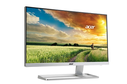 Acer LCD S277HKwmjdpp 69cm (27'') 4K2K IPS LED, 3840x2160, 100M:1,4ms, DVI, HDMI, DP, mini DP, White