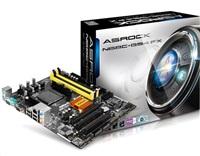 ASRock N68C-GS4 FX, s.AM3+, NVIDIA GeForce 7025, 2xDDR3/DDR2,4xSATA2 3.0Gb/s, RAID,7xUSB 2.0, GLAN,(D-Sub), uATX