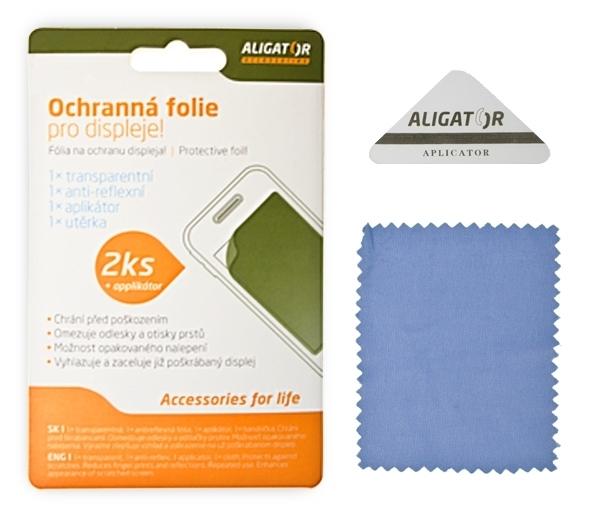 Fólie ALIGATOR S4000 Duo/S4020, 2ks + aplikátor
