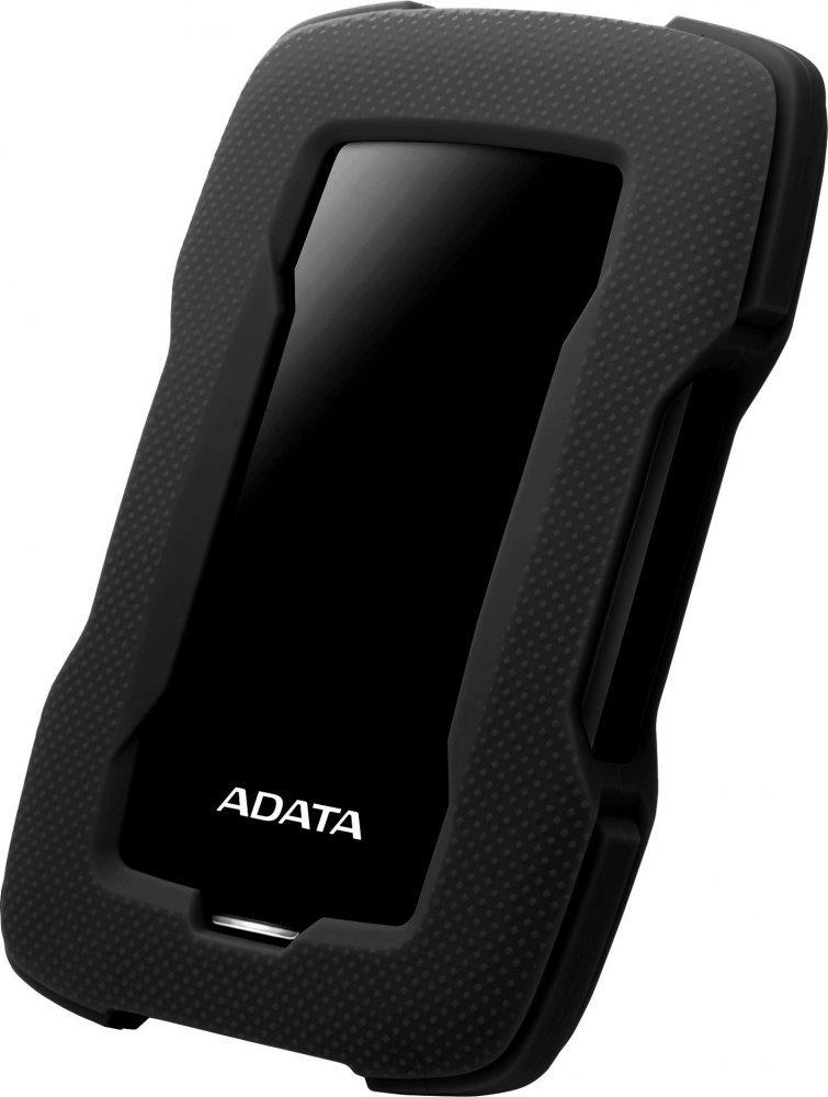 """ADATA Externí HDD 2TB 2,5"""" USB 3.1 HD330, BLACK COLOR BOX, černý (gumový, nárazu odolný)"""