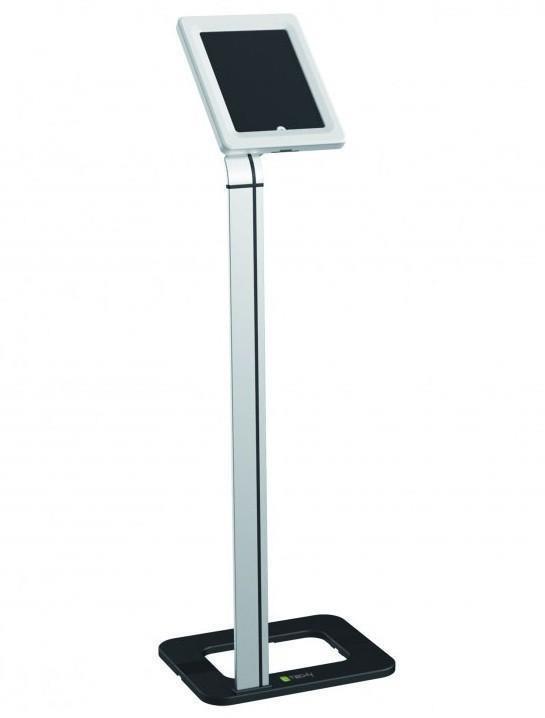Techly Univerzální podlahový stojan pro iPad a tablety 9.7''-10.1'' se zámkem