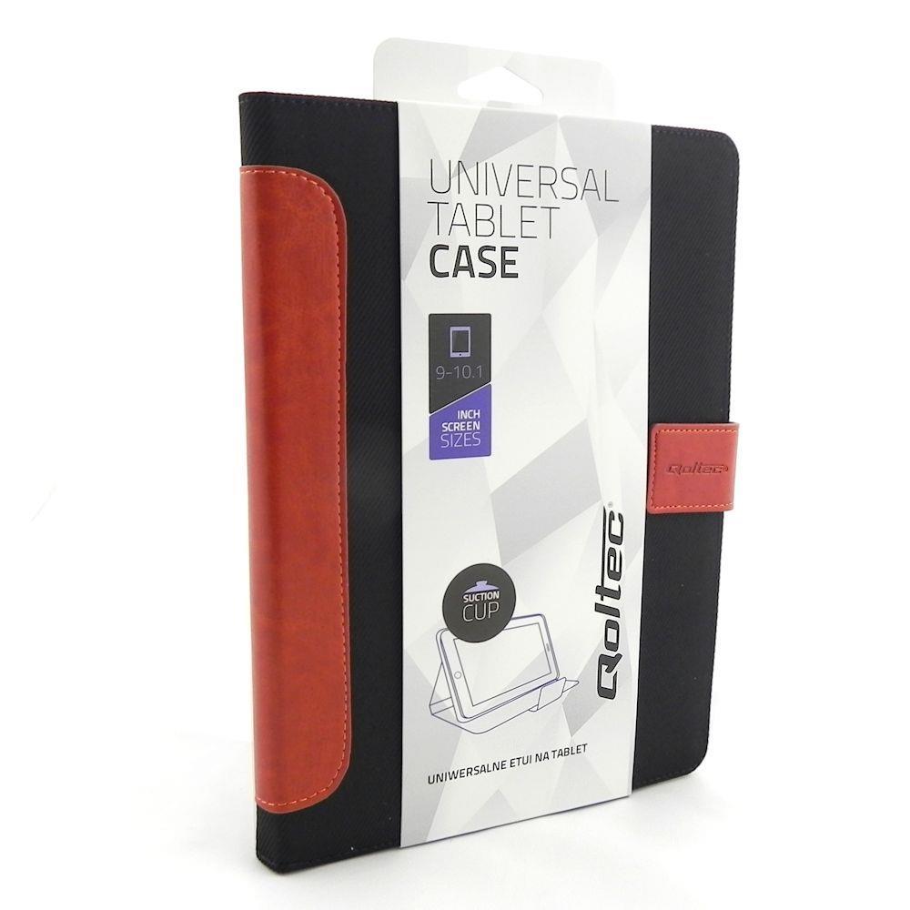 Qoltec High Effective Protection pouzdro pro tablet 9-10.1'', černo-hnědé