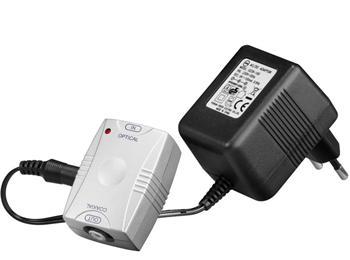 Převodník z optického digitálního signálu TOS(F) na digitální koaxiální RCA výstup
