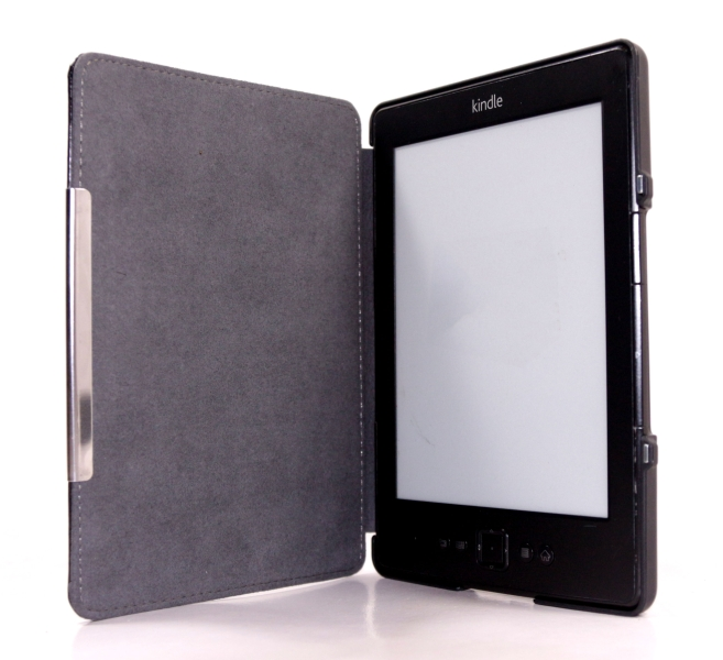 C-TECH PROTECT pouzdro pro Amazon Kindle 6 TOUCH, WAKE/SLEEP funkce,hardcover, AKC-10, černé
