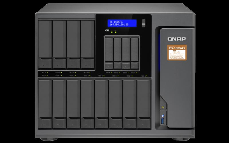QNAP TS-1635AX-8G(1,6GHz/8GB RAM/16xSATA)