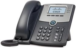 Cisco SPA504G IP Phone, 4 Voice Lines, 2x 10/100 Ports, High-Resolution Graphical Display, PoE Support REFRESH
