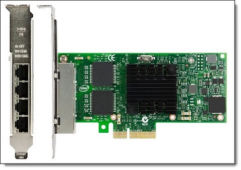 System x Intel I350-T4 4xGbe Base T Adapter for IBM System x