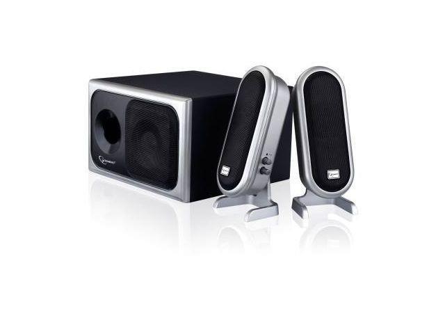 Gembird Multimedia Speaker 2.1 System, 45W RMS power, wooden housing