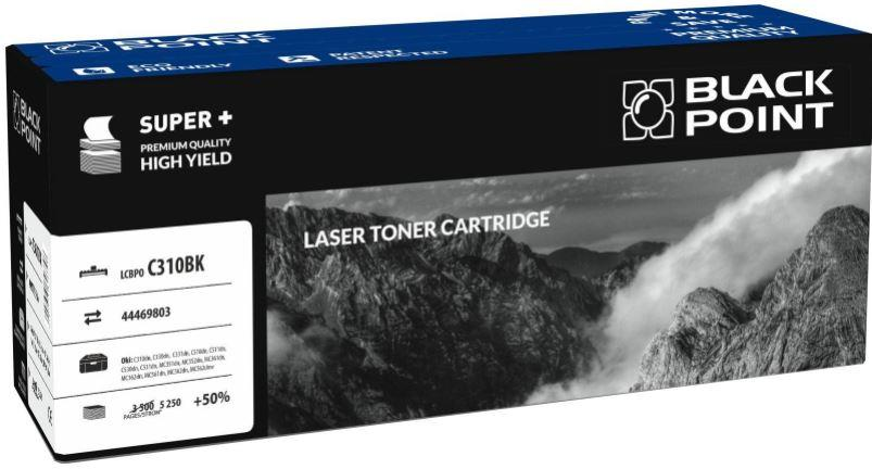 Toner Black Point LCBPOC310BK | black | 5250 pp | Oki 44469803