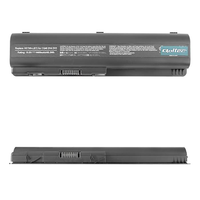 Qoltec Long Life baterie pro notebooky HP CQ40/45, 10.8V | 4400mAh