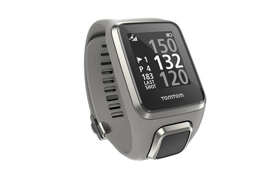 TomTom GPS hodinky Golfer 2 (L), světle šedá