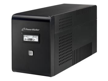 Power Walker UPS Line-Interactive 1500VA 2x SCHUKO, 2x IEC, RJ11/RJ45, USB, LCD