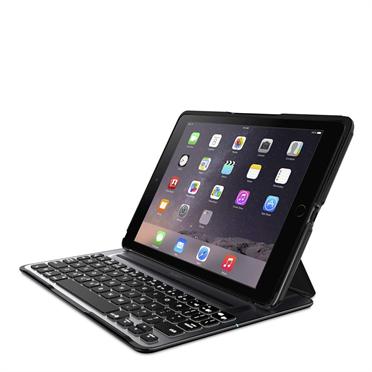 Belkin iPad Air 2 Bluetooth QODE™ Ultimate Pro klávesnice, podsvícená, černá