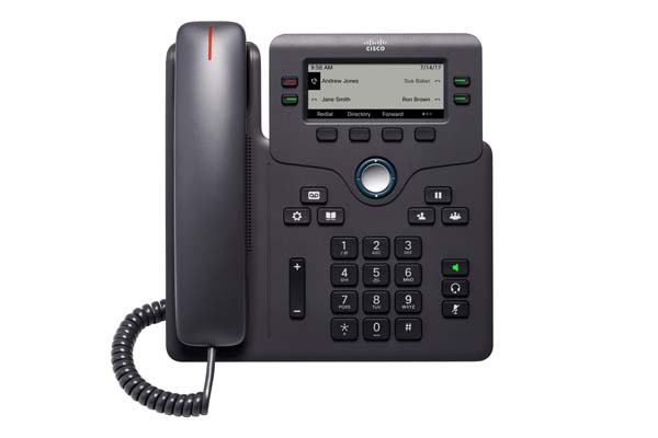 Cisco IP Phone 6841 with power adapter