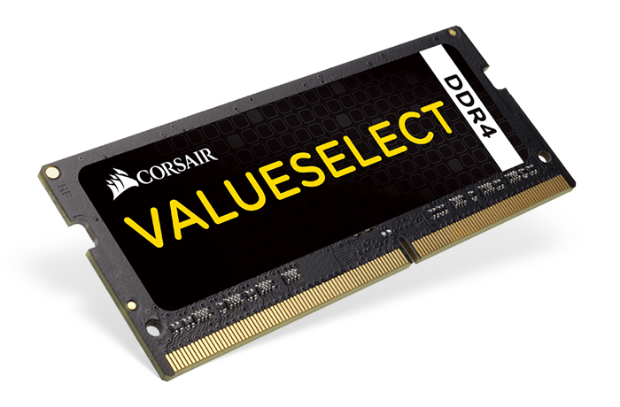 Corsair ValueSelect 2x4GB 2133MHz DDR4 SODIMM C15 1.2 V